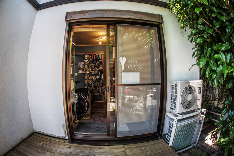 akaMOZUお取り扱い店 東京都昭島市 西武立川駅前にある自転車屋のどか