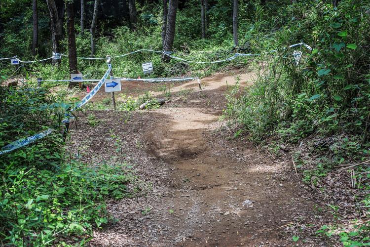 スマイルバイクパークのミニクロカンコース miniクロカン