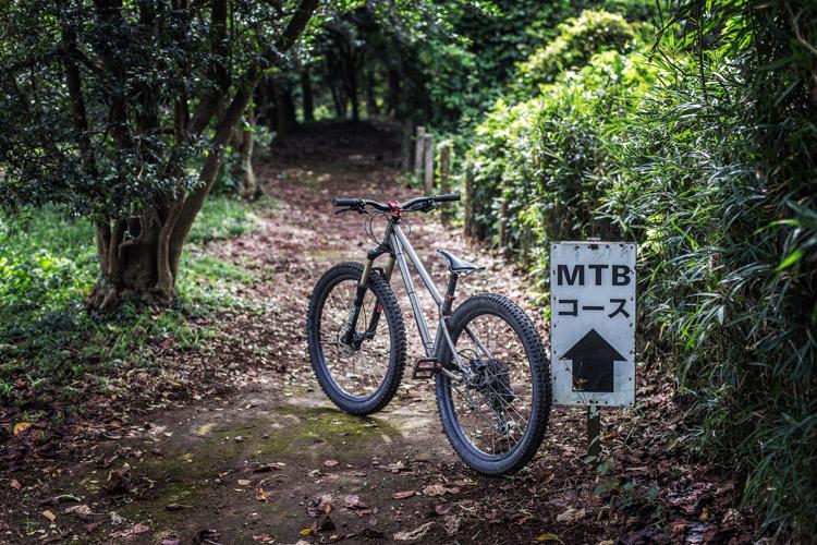 森のまきばオートキャンプ場 MTBコース croMOZU275