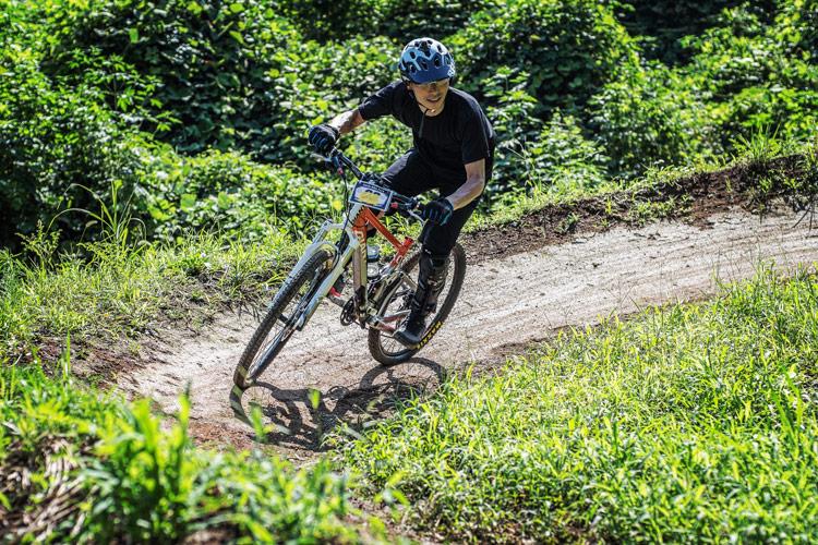 スマイルバイクパーク スラロームコース