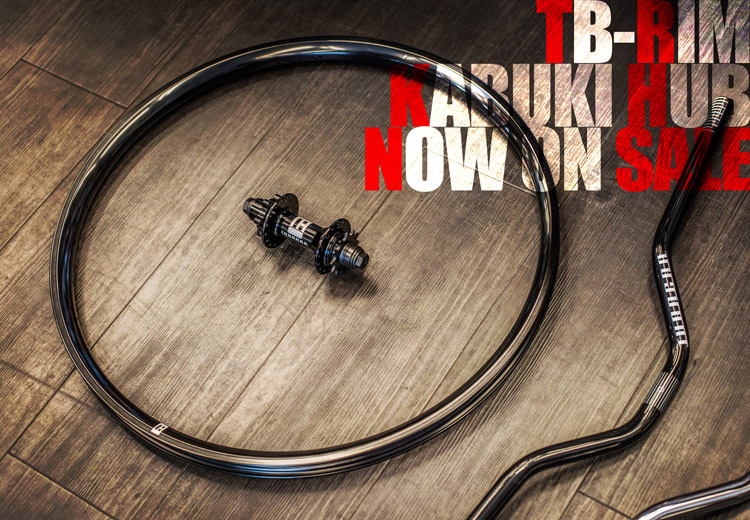 TB-RIM KABUKI HUB Now on SALE!!
