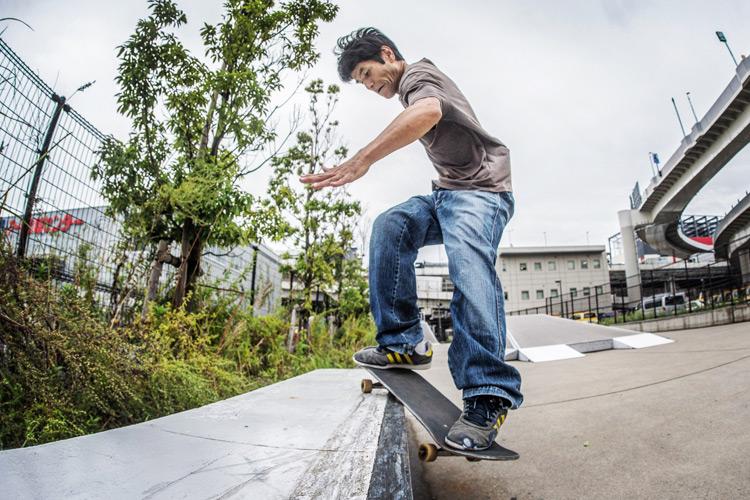 大師河原公園スケートパーク 田畑さん スミスグラインド