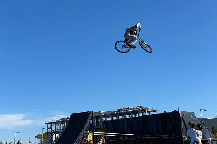 BMX×MTB×TRIAL×パルクール 「AIR TRICK CIRCUS」 in 11th ACTIVE KIDS FESTA