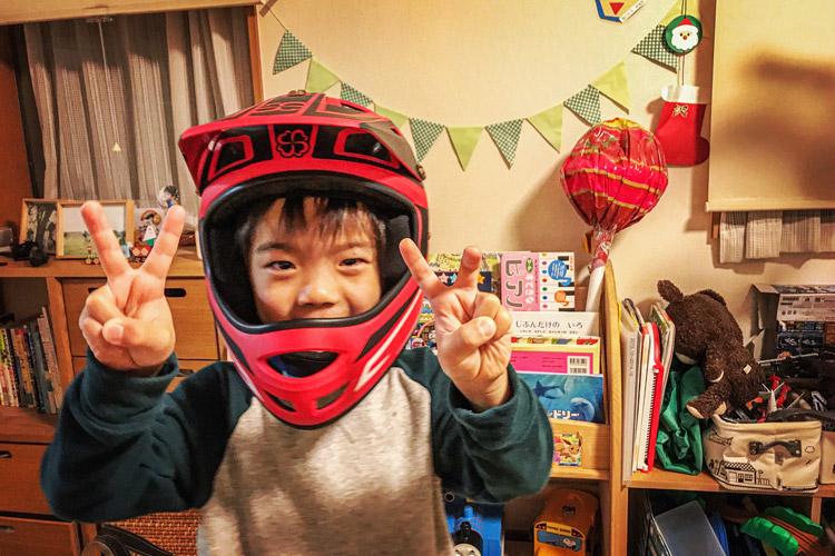 ヨツバサイクル フルフェイスヘルメット ホールショットヘルメット