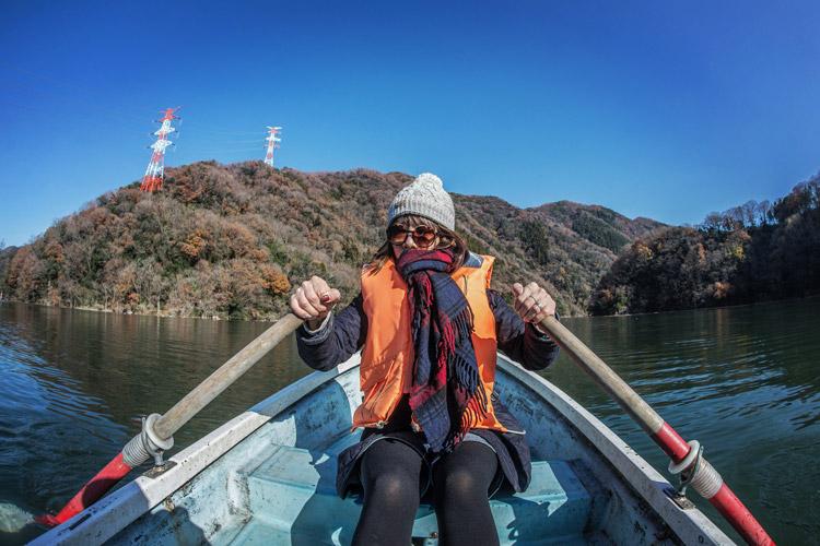 青野原オートキャンプ場 津久井湖 沼本ボート ワカサギ釣り