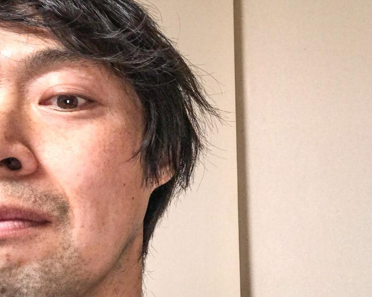 老化現象 鼻毛が白髪