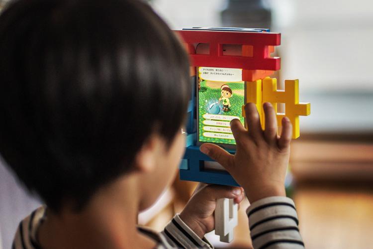 任天堂 スマホアプリ どうぶつの森 ポケットキャンプ 学研ニューブロック オリジナル iPhoneケース
