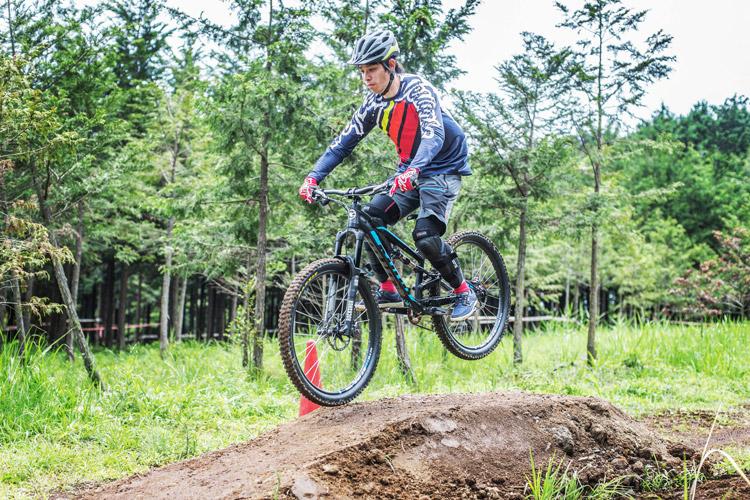 小田原フォレストバイク ジャンプ 基礎講習