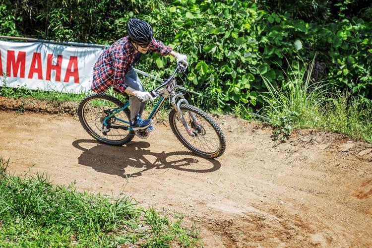 スマイルバイクパーク  プライベートレッスン スラロームコース