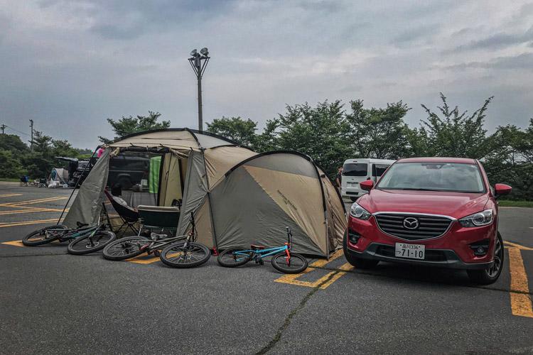 富士見パノラマ CX-5 テント
