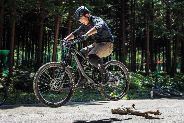 小田原フォレストバイク バニーホップジャンプ基礎講習