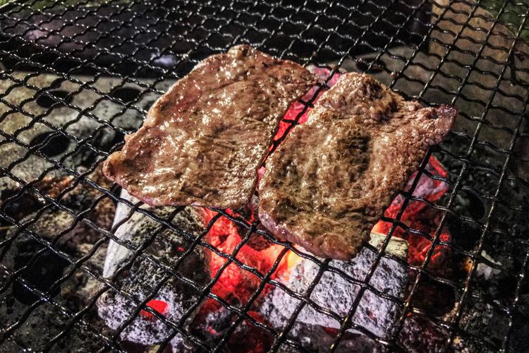 ワイルドキッズ岬オートキャンプ場 BBQ 焼き肉