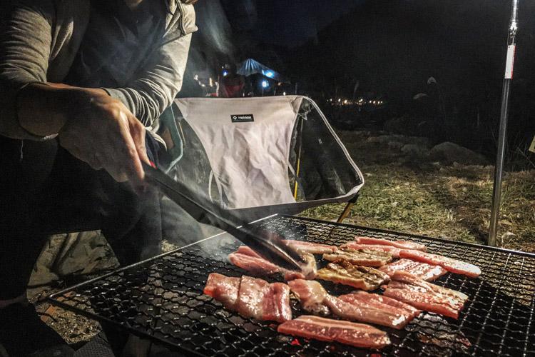 ウェルキャンプ西丹沢 バーベキュー BBQ