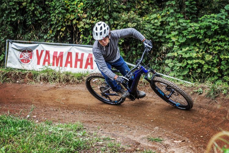 スマイルバイクパーク YAMAHA eMTB YPJ-MT Pro スラロームコース