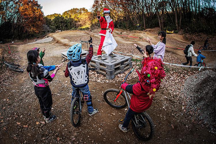 スマイルバイクパーク SBP クリスマスイベント