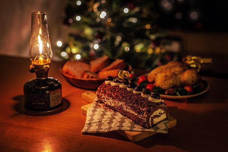 クリスマスケーキ 奥さん 珠魅 手作り