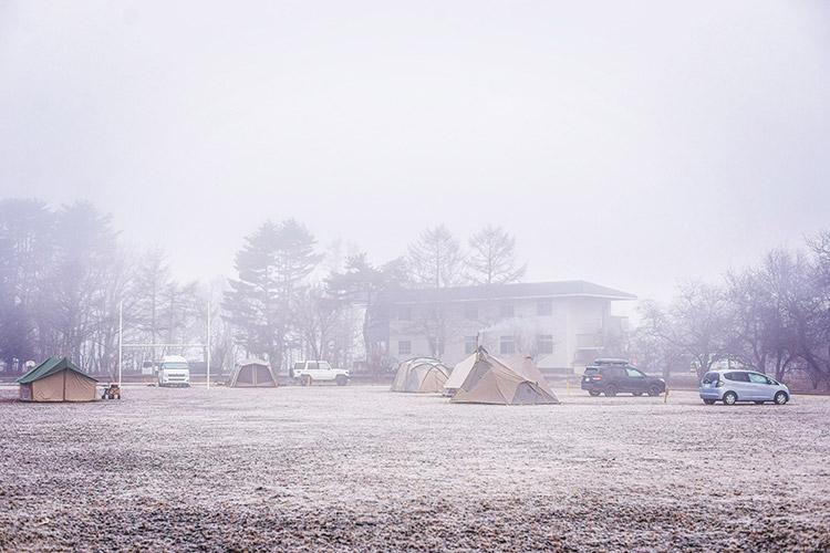 山中湖 レイクロッジヤマナカキャンプ場