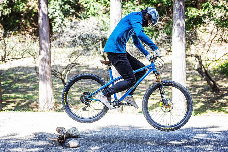 小田原フォレストバイク バニーホップ基礎講習