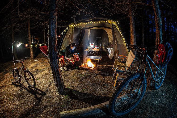 家族キャンプ 富士山ワイルドアドベンチャー