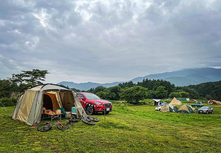 富士ミルクランド キャンプ場