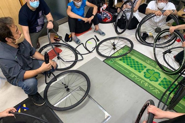 Sportsbikeshop Biking パンク修理講習会